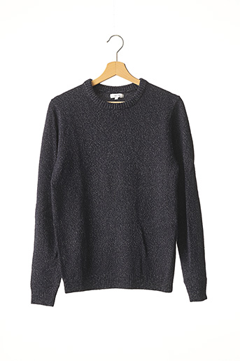 Pull col rond bleu REISS pour homme