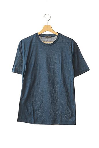 T-shirt manches courtes bleu BERLUTI pour homme