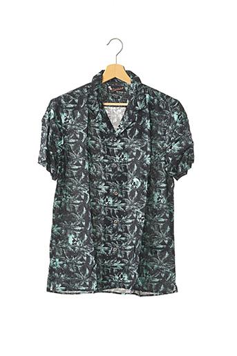 Chemise manches courtes bleu THE KOOPLES pour homme