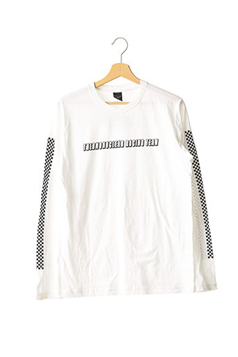 T-shirt manches longues blanc OAKLEY pour homme
