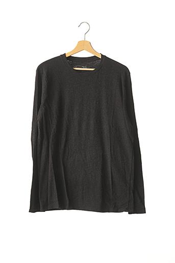 T-shirt manches longues gris AMERICAN VINTAGE pour homme