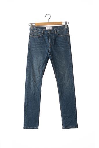 Jeans coupe slim bleu INSIMA pour homme