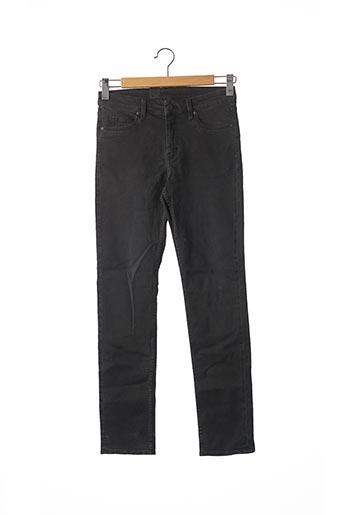 Jeans coupe slim noir CHEAP MONDAY pour homme
