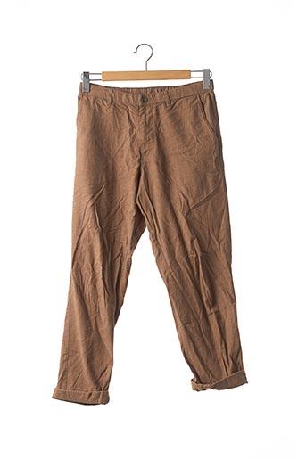 Pantalon casual marron UNIQLO pour homme