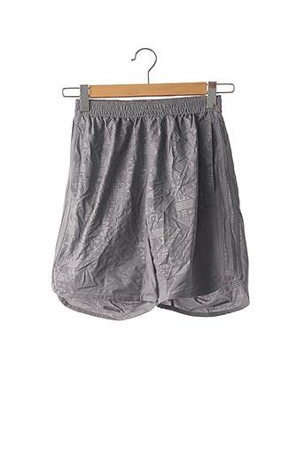Short gris ADIDAS pour homme