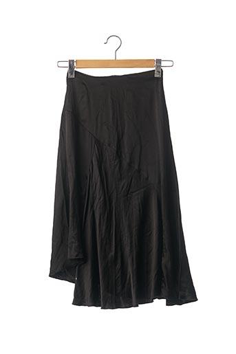 Jupe mi-longue noir NEW LOOK pour femme