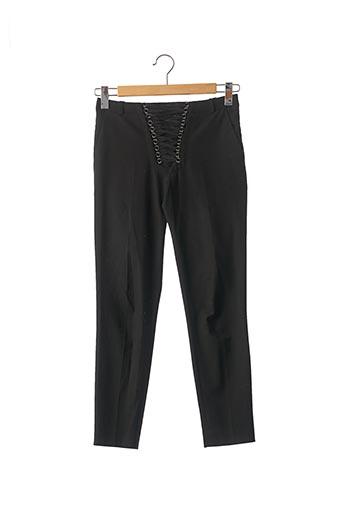 Pantalon casual noir THE KOOPLES pour femme
