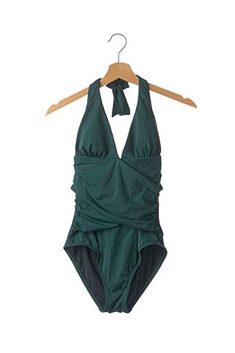 Maillot de bain 1 pièce vert BODEN pour femme
