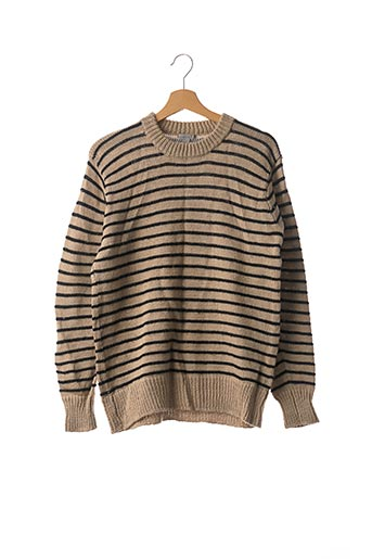 Pull col rond beige COS pour femme