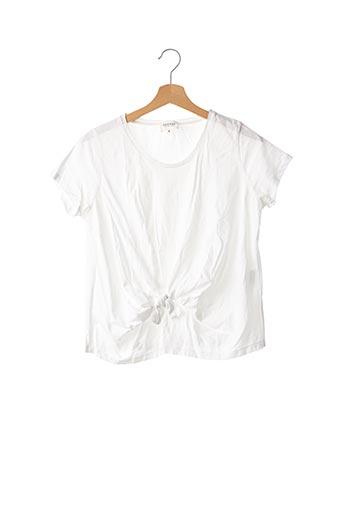 T-shirt manches courtes blanc SÉZANE pour femme