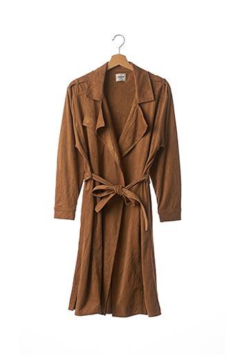 Manteau long bleu PIMKIE pour femme