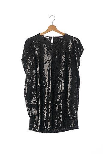 Robe courte noir PAROSH pour femme