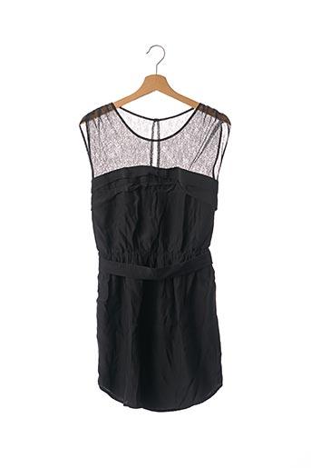 Robe courte noir SANDRO pour femme
