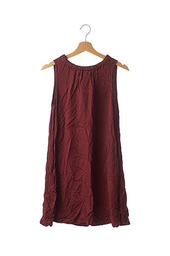 Robe courte rouge BELLEROSE pour femme