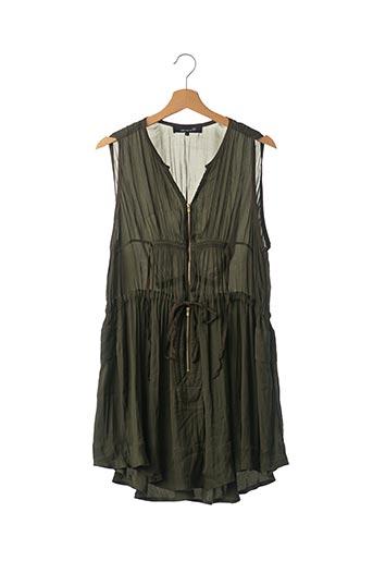 Robe courte vert ISABEL MARANT pour femme