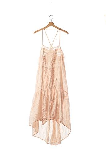 Robe longue rose LOA pour femme