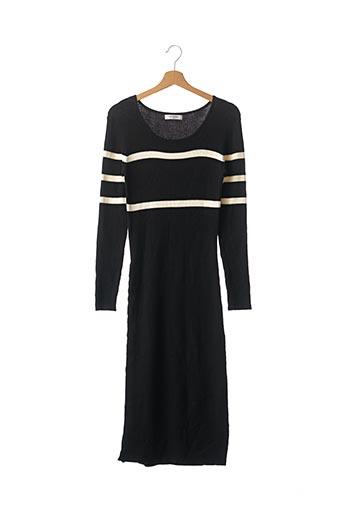 Robe pull noir LES PETITES... pour femme