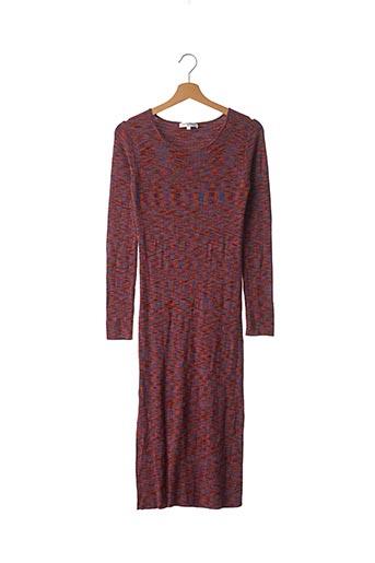Robe pull rouge LES PETITES... pour femme