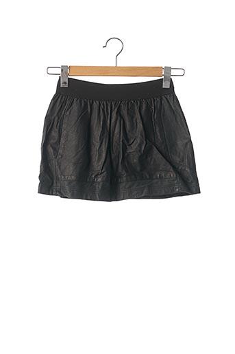 Mini-jupe noir EPISODE pour femme