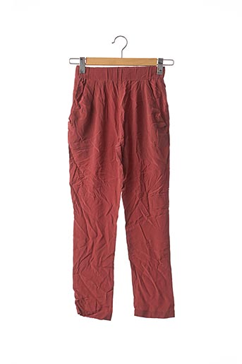 Pantalon casual rose TOUPY pour femme