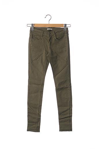 Pantalon casual vert CIMARRON pour femme