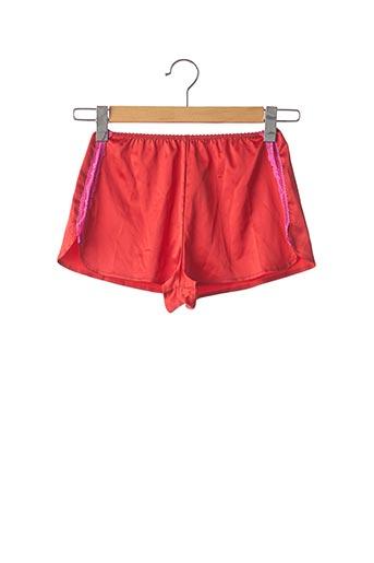 Shorty/Boxer rouge VANNINA VESPERINI pour femme