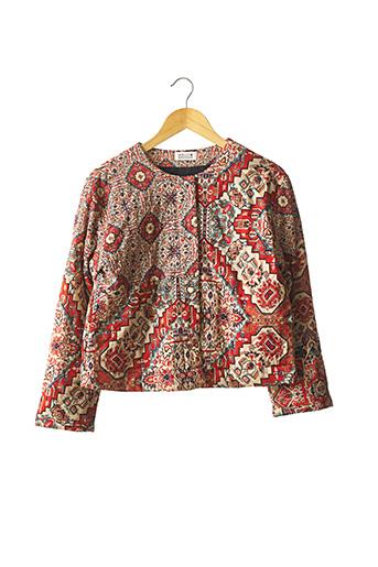 Veste casual rouge MOLLY BRACKEN pour femme
