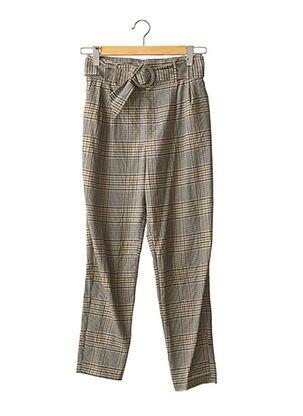 Pantalon casual beige TRF pour femme