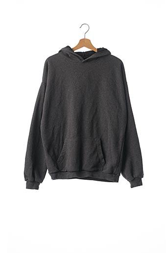 Sweat-shirt gris BOOHOO pour femme
