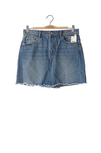 Jupe courte bleu PIMKIE pour femme