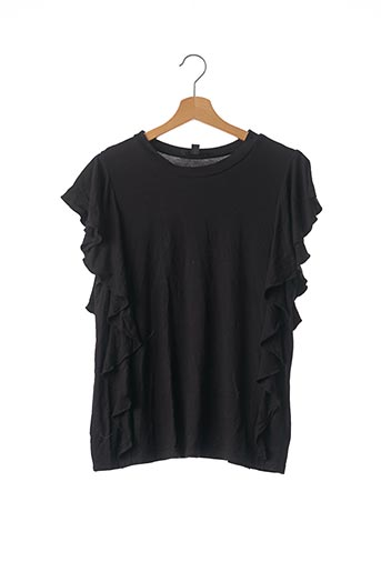T-shirt manches courtes noir MISS GUIDED pour femme