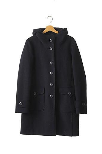Manteau long bleu ADD pour femme