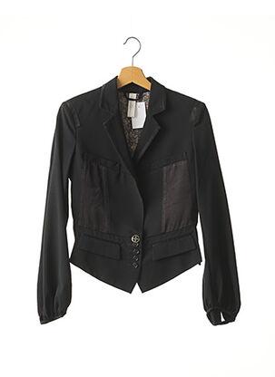 Veste chic / Blazer noir ICHI pour femme
