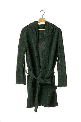 Gilet manches longues vert ZADIG & VOLTAIRE pour femme