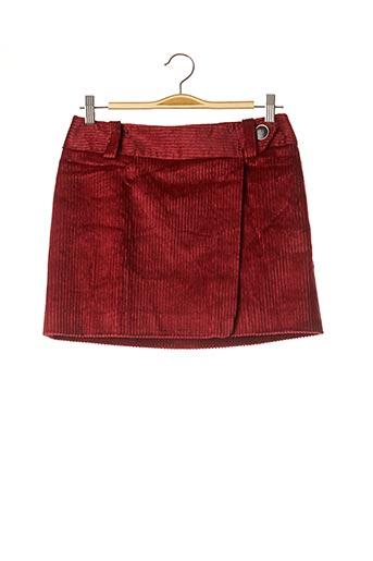 Mini-jupe rouge SÉZANE pour femme