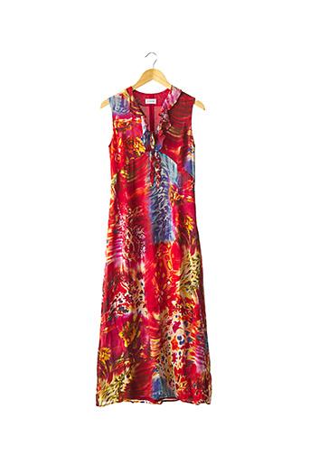 Robe longue rouge ZAPA pour femme