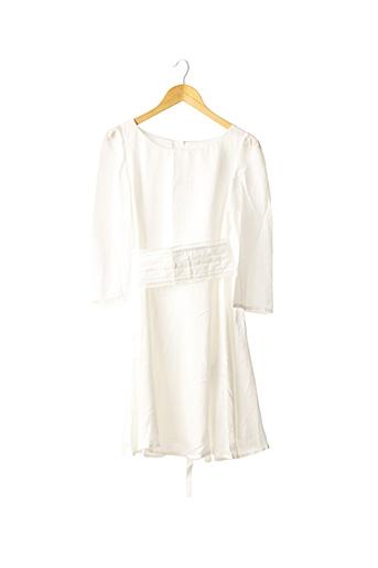 Robe mi-longue blanc CLAUDIE PIERLOT pour femme