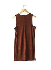 Robe mi-longue marron MASSCOB pour femme seconde vue
