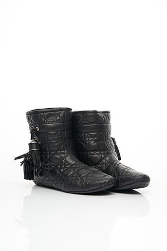 Bottines/Boots noir CHRISTIAN DIOR pour femme