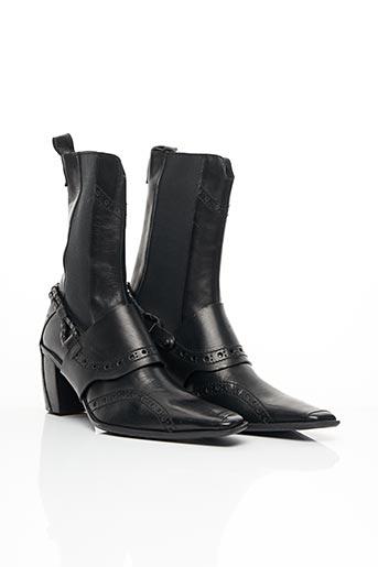 Bottines/Boots noir MARITHE & FRANCOIS GIRBAUD pour femme