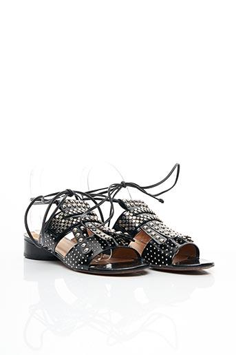 Sandales/Nu pieds noir ROBERT CLERGERIE pour femme
