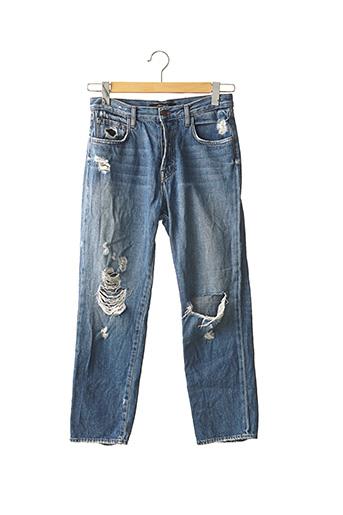 Jeans coupe slim bleu J BRAND pour femme