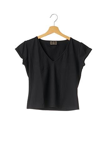 T-shirt manches courtes noir FENDI pour femme