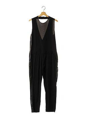 Combi-pantalon noir 8PM pour femme