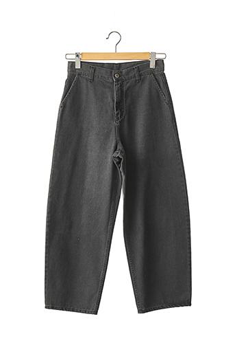 Jeans boyfriend gris MARGAUX LONNBERG pour femme
