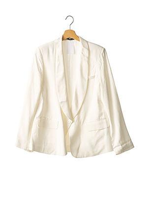 Veste chic / Blazer blanc BERENICE pour femme