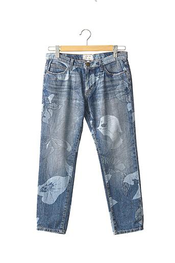 Jeans coupe slim bleu CURRENT ELLIOTT pour femme