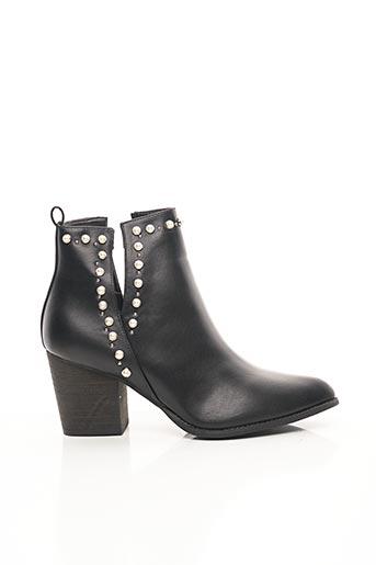 Bottines/Boots noir BELLUCCI pour femme