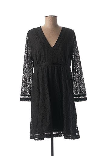 Robe courte noir BEST MOUNTAIN pour femme