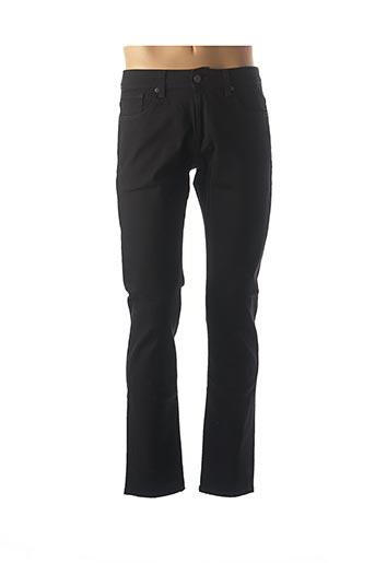 Jeans coupe droite noir SELECTED pour homme